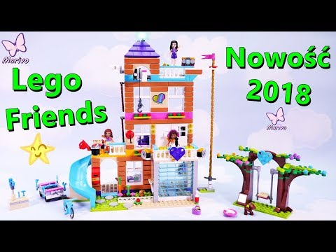 Lego Friends 41340 Friendship House 🏠 New 2018 🏠 Building Review Fun Openbox