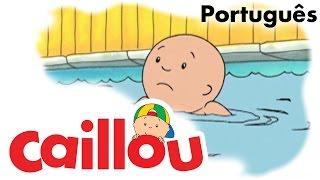CAILLOU PORTUGUÊS - Caillou aprende a nadar (S01E35) thumbnail