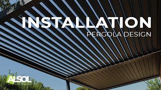 Pergola Bioclimatique Design Aluminium