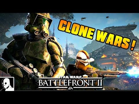 Clone Wars mit neuen Skins - Star Wars Battlefront 2 Deutsch Multiplayer thumbnail