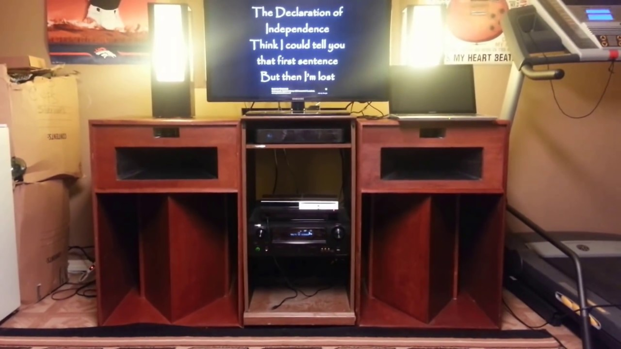 klipsch la scala review youtube. Black Bedroom Furniture Sets. Home Design Ideas
