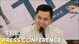 """Tres"" press conference with Luigi Revilla."