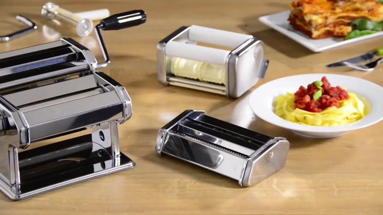 Vonshef Manual Pasta Maker Youtube