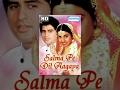 Salma Pe Dil Aa Gaya (HD) - Hindi Full Movie - Ayub Khan, Saadhika, Milind Gunaji - Hit Hindi Movie