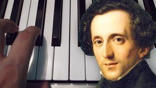 Marcha Nupcial / Mendelssohn / Piano / Tutorial