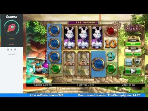 1000 Euro VS White Rabbit - Full Session - Mega Win