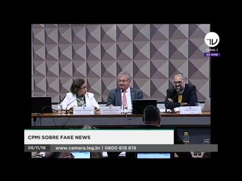 CPMI das Fake News ouve Allan dos Santos
