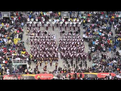 Alabama A&M University Marching Band - Commas - 2015
