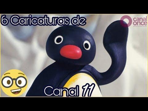 ¡TOP 6 Caricaturas de Canal 11!