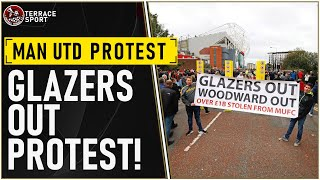 Manchester United Fan Protest | #GlazersOut | MAN UTD NEWS SUPER LEAGUE | LIVE