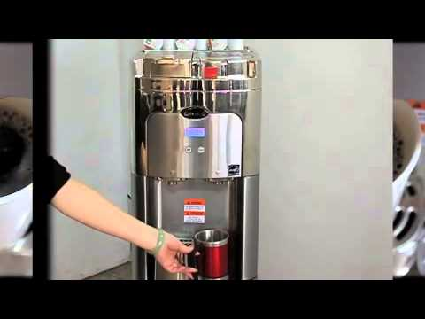 Estratto Single Cup Coffee Maker Water Cooler Platinum