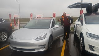 one of the first model 3s in calgary ab