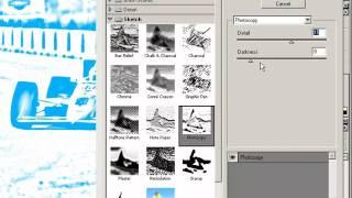 PhotoShop Ders 67 - Fotokopi Efekti Oluşturmak
