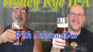 All Grain Honey Rye Ipa With Jakeanddar