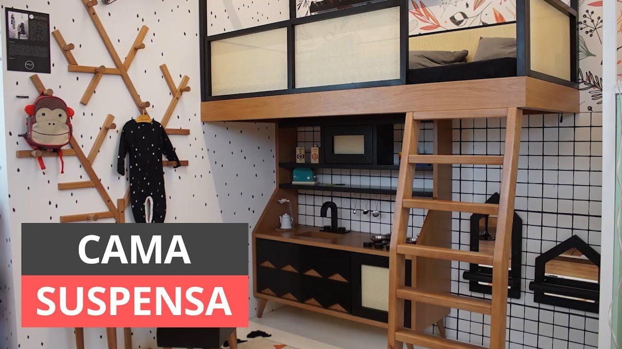 Cama Suspensa Ideias E Dicas De Como Fazer Youtube - Cama-loft