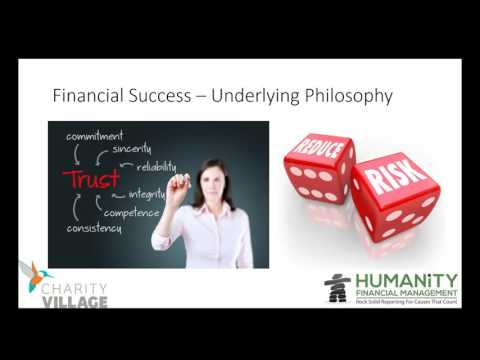 Four Keys to Financial Success in Small to Mid Size Nonprofits and Charities
