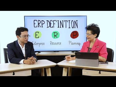 ERP ระบบที่ช่วยในการวางแผนการทรัพยากรให้กับองค์กร   รายการ innovative wisdom