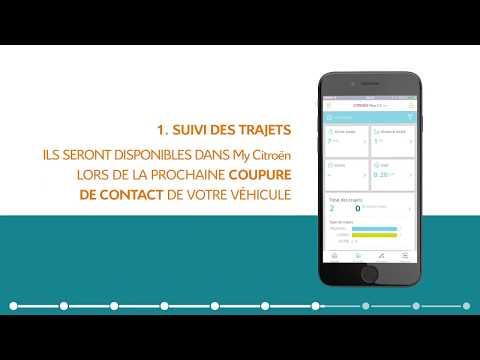 My Citroën : synchroniser votre smartphone à votre Citroën