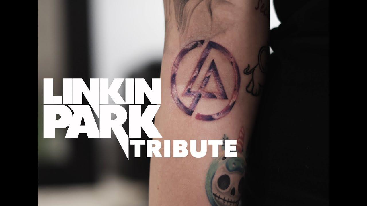 linkin park tattoo logo tribute youtube. Black Bedroom Furniture Sets. Home Design Ideas