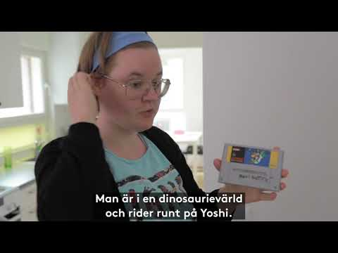Anna bor på serviceboende