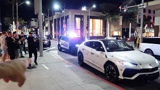 POLICE SHUT DOWN RODEO DRIVE WITH DDE+ TAVARISH+ ALEX CHOI! *CRAZY NIGHT*
