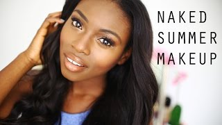 NAKED SUMMER MAKEUP DARKER SKIN| & CHIT CHAT Thumbnail