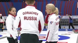 World Mixed Curling Championship 2016 - Round Robin CZE vs RUS