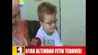 REFLEKSOLOJİ EĞİTİMDE DUAYEN UZMANLAR HALİL TABUR VE ESAT BAŞARAN STV DE...