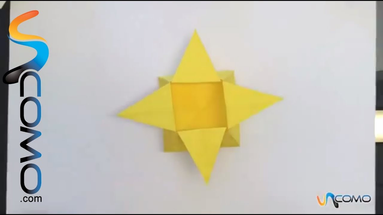 How To Make A Origami Box Star