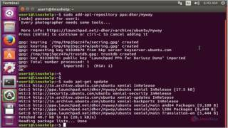 How to install HDRMerge in Ubuntu