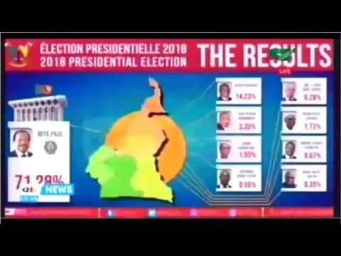 Proclamation des Résultats de l'élection Présidentielle du 07 Octobre 2018