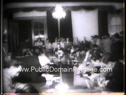 Middle East Crisis 1958 - Pending United Nations Summit talks newsreel archival footage