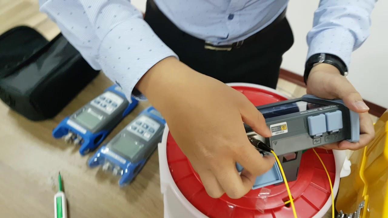 Máy đo điểm đứt cáp quang cầm tay – Fiber ranger