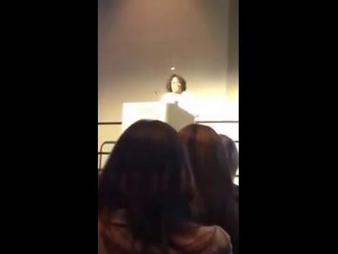 Valencia Agnew's Acceptance Speech