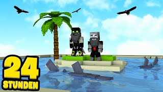 24 STUNDEN OHNE ESSEN UND TRINKEN?! - Minecraft [Deutsch/HD]