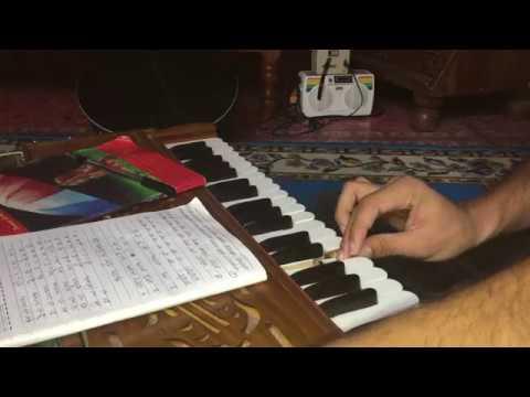 sa  Re ga ma-Nepali harmonium lessons for beginnors