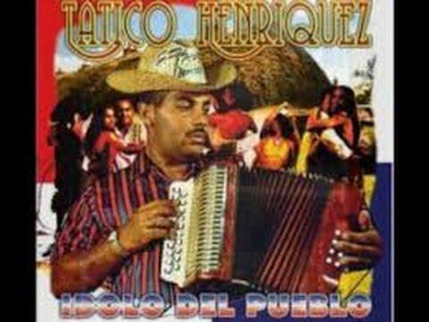 Tatico Henriquez, Merengue Tipico de güira, tambora y acordeon..