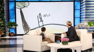 Ellen Helps Make Kid Expert Nate Seltzer's Movie Dream Come True