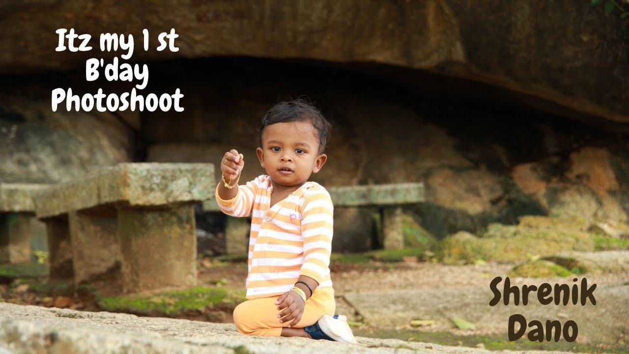 Our Baby Shrenik Dano's First Birthday Photoshoot | Danz