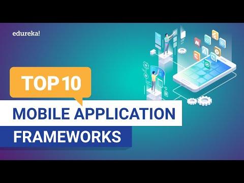 Top 10 Mobile Application Frameworks 2020 | Best Mobile App Development Frameworks | Edureka