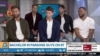 The guys from Bachelor in Paradise are here!