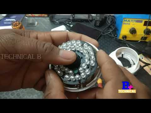 Night vision cctv Camera को Repair करे ₹50 रुपए में