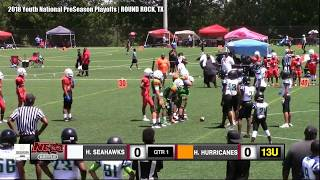 13U Houston Elite Seahawks vs 13U Houston Hurricanes