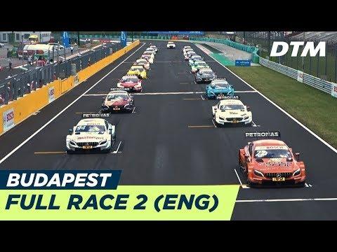 DTM Budapest 2018 - Race 2 (Multicam) - RE-LIVE (English)