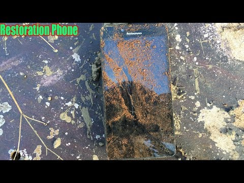 Restoration Old Abandoned Lenovo Phone In Landfill   Lenovo Phone Restoration A6000