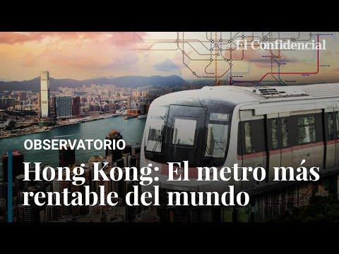 La fórmula de Hong Kong para tener el metro más rentable del mundo