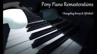 A True True Friend Piano - DjDelta0 & Changeling Brony