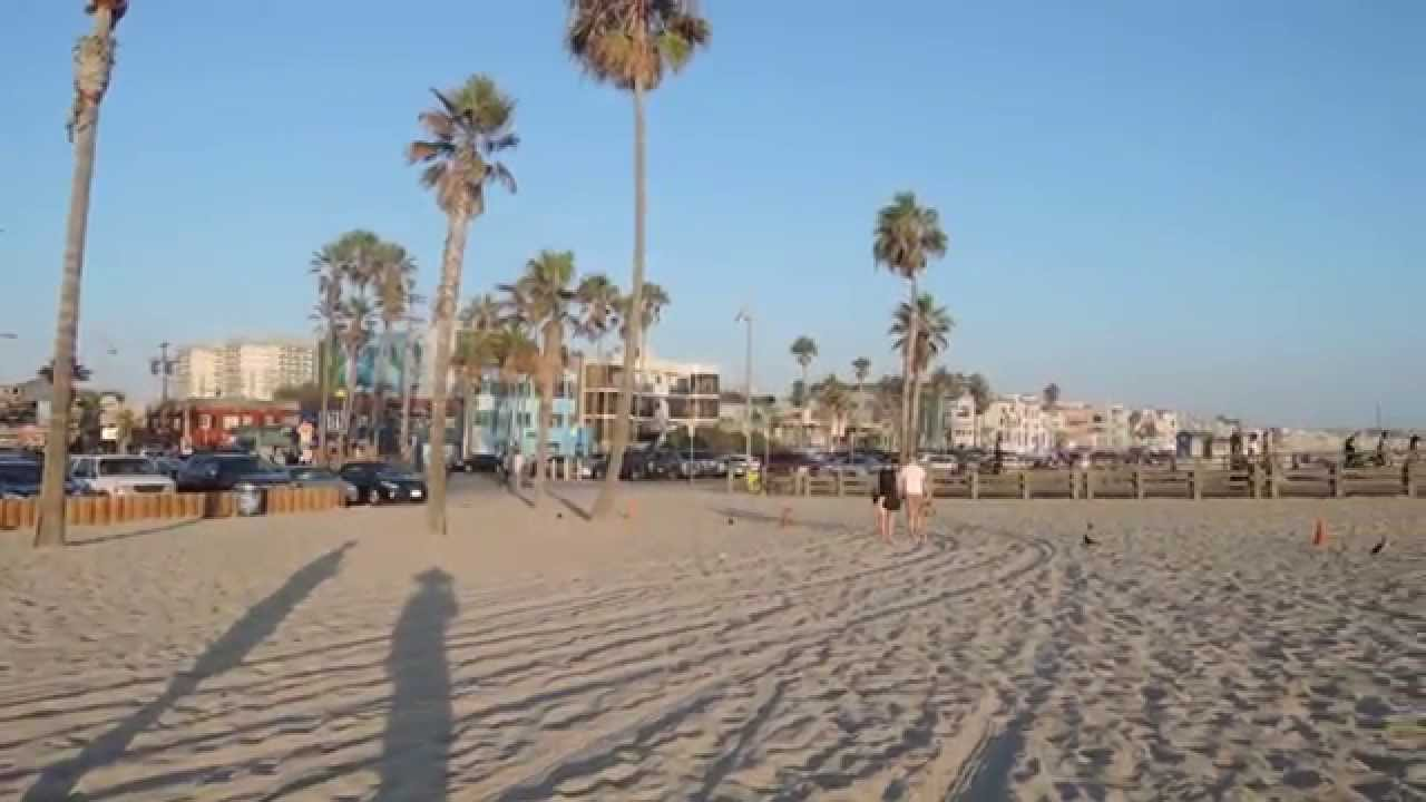 360 Degrees Venice Beach Around Fishing Pier California