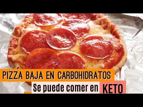 pizza-baja-en-carbohidratos---keto-friendly---fácil-&-rápido