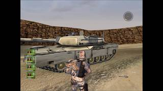 Conflict Desert Storm 1 No Retreat (With M1A1 Abrams Tank)